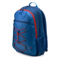 Hp Active Backpack Marine Blue/Coral Red 1MR61AA